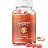 Elderberry Gummies for Kids and Adults with Vitaminc C, Propolis, Echinacea. Max Strength