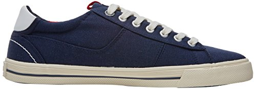 s.Oliver Men's 13600 Low-Top Sneakers Blue (Navy) outlet footaction w2K6MuV