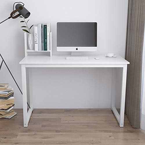 QIHANGUS Desk Wooden Home Office Desk I Shape