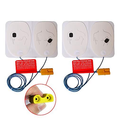 Training Electrode Pads for The AED Trainer Adult Training Replacement Pads for AED Trainer,2 Pairs