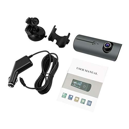 KNOSSOS Dual Lens GPS Camera HD Car Dvr Dash Cam Video Recorder G-Sensor Visione Notturna - Grigio