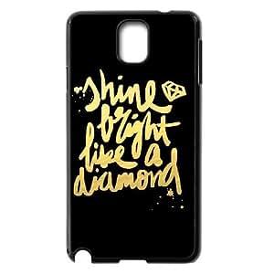 Custom Diamond Plastic Case for SamSung Galaxy note3 n9000, DIY Diamond Note3 Shell Case, Customized Diamond n9000 Cover Case
