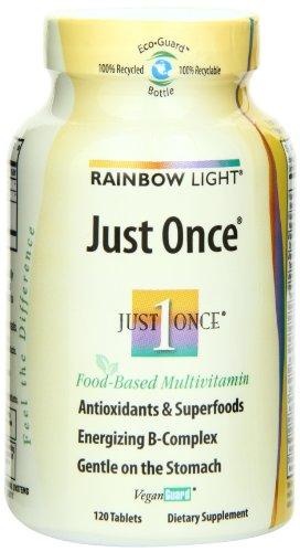 Rainbow Light Just Once Multivitamin  Tablets   120 tablets, Health Care Stuffs