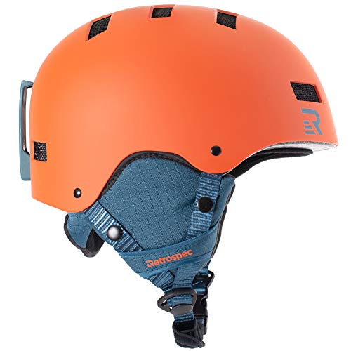 - Retrospec Traverse H1 Convertible Ski & Snowboard/Bike & Helmet
