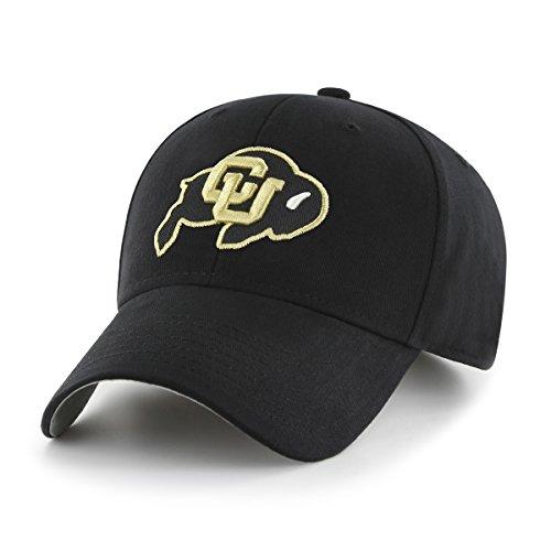 NCAA Colorado Buffaloes Children Cinch Ots All-Star MVP Adjustable Hat, Kids, Black (Baseball Colorado Buffaloes)
