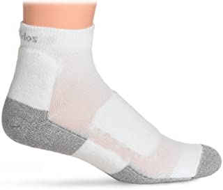 product image for Thorlo Men's Lite Walking Mini Crew Sock Level 2 lwmxm,White,M12-14