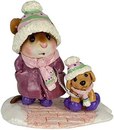 Wee Forest Folk M-180a Chilly Dog – Purple New 2019