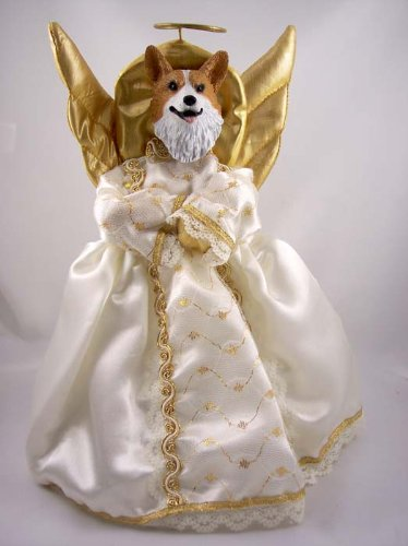 Conversation Concepts Welsh Corgi Pembroke Angel Tree Topper