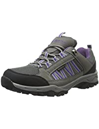 Mountain Warehouse Path Waterproof Women's Walking Shoes - Waterproof, Breathable & Mesh Lining with High Traction Sole - Great for extra grip & stability