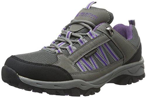 Mountain Warehouse Zapatillas Botas de senderismo impermeables Path para mujer Gris oscuro