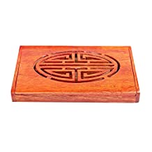 Chinese Style Wooden Card Holder A