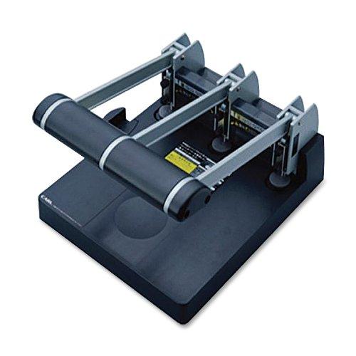 CARL 63150 Model xhc-150 extra heavy-duty 150-sheet 3-hole punch, 9/32 holes, gray/blue