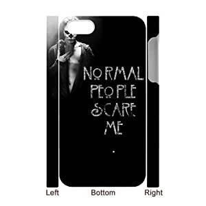 BESTER DIY Phone Case with Hard Shell Protection for Iphone 4s 3D case with American Horror Story lxa#915519