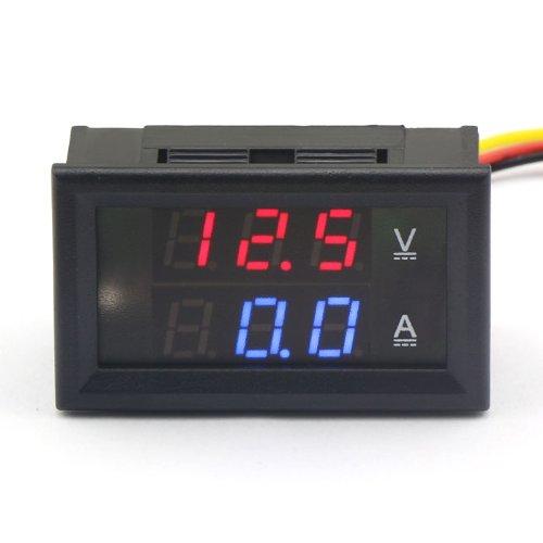 DROK 100174 Digital Multimeter Dual LED Display Voltmeter DC