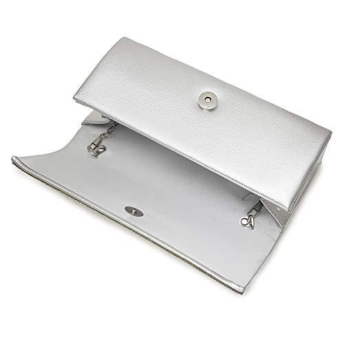 Evening Diamonds Handle For Bags Women Bag Handbags Style7 Crystal Ladies Clutch Vintage Gold Shoulder P1FUqwn