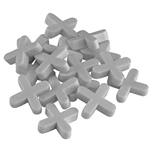 QEP 10026Q  1/8-Inch Tile Spacers for Spacing of Floor or Wall Tiles, 250-Piece