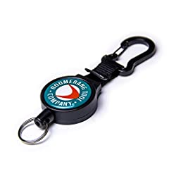 Boomerang's Zinger HD with Carabiner is Heavy Duty for keeping tools handy when the little ones won't do the job. The HD zinger includes a 36 inch Kevlar cord and 6 ounces of retraction force. The carabiner easily attaches to D rings and smal...