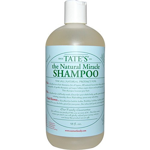 TateS The Natural Miracle - TateS Natural Miracle Shampoo - 18 ...