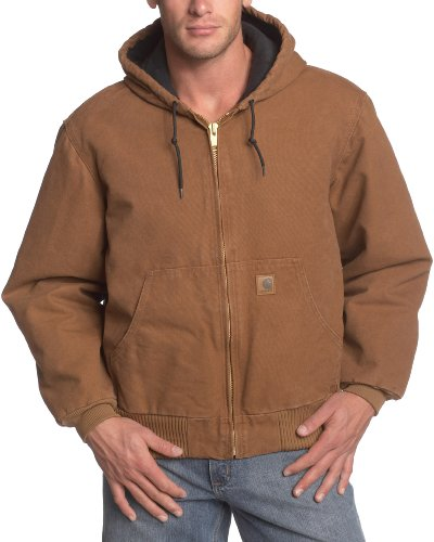 Carhartt Quilted Flannel Sandstone J130