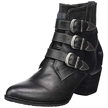 Mustang 1334-501-259, Women's Ankle Boots, Grey (graphit 259), 4 UK (37 EU) 1