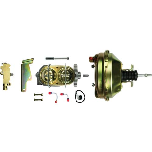 Line Front Right Disc Brake - The Right Stuff Detailing G91210971 Disc front/Drum rear 9 booster, master cylinder, combination valve and steel brake lines.