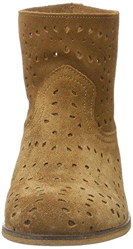Tommy Hilfiger G1385enny 12b, Botas Efecto Arrugado para Mujer Marrón (Summer Cognac 929)