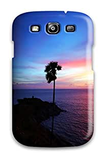 David J. Bookbinder's Shop 6262359K12682652 Slim Fit Tpu Protector Shock Absorbent Bumper Thailand Nature Case For Galaxy S3
