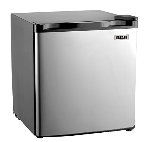 RCA RFR180 1.6-1.7 Cubic Foot Fridge with Spotless Steel Door, Stainless Steel (Small Cube Refrigerator compare prices)