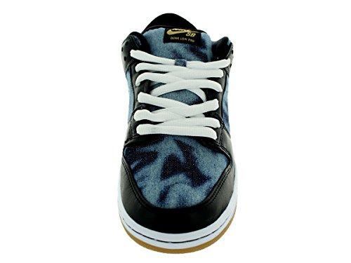 Nike Herren Dunk Low Premium Sb Skaterschuhe Nero, Bianco-blu Marino