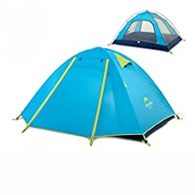 Azarxis 1-2-3-4 Person 3 Season Backpacking Tent, Lightweight Waterproof Double Layer Camping Tent for Camping Hiking