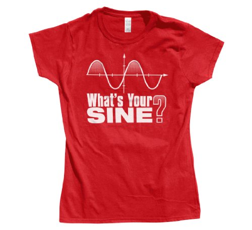 What's Your Sine Math Ladies T-Shirt