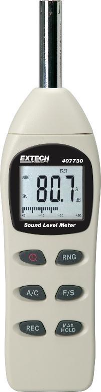 extech sound level meter manual