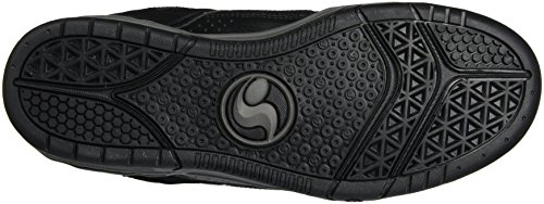 DVS APPARELComanche - Zapatillas de Skateboard Hombre Noir (Black Black Leather Nubuck)