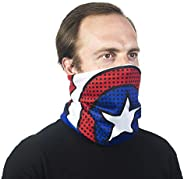 Concept One Marvel Capitán América - Pañuelo multiusos para el cuello, color azul, talla única