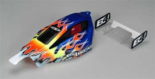 B4 Parts (Team Associated 9675 B4 Painted Body Blue)