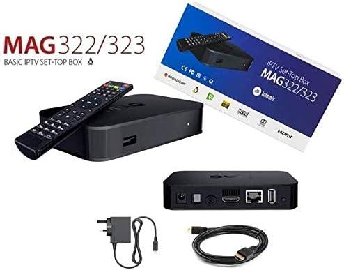 Infomir MAG 322 / MAG 323 IPTV/OTT net receiver Linux 3 3 based set