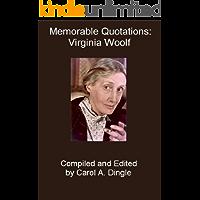 Memorable Quotations: Virginia Woolf