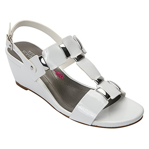 Ros Hommerson Women's Willow Sandal White Patent cheap latest cheap sale find great official site online fashion Style sale online cheap reliable XZD96
