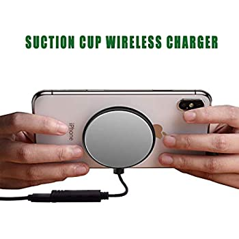 Amazon Com Lywey Separable Suction Cup Wireless Charger