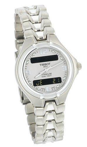 Tissot T65718831 - Reloj de Pulsera Mujer, Titanio, Color Plata: Amazon.es: Relojes