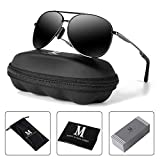 Best Sunglasses - Aviator Sunglasses for Men Polarized Women-MXNX UV Protection Review