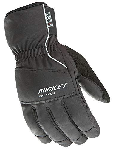 Joe Rocket Ballistic 7.0 Men's Cold Weather Motorcycle Riding Gloves (Black, XX-Large)