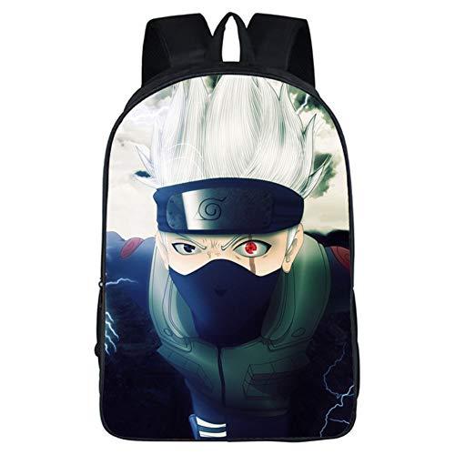Nara 4 Light - Gucili Children Backpack, 16-Inch Cartoon Ninja Student Laptop Backpack School Outdoor Travel Boys Rucksack Lightweight Waterproof Girls Daypack Bag,04