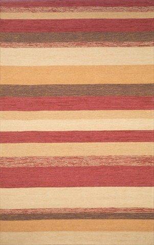 (Liora Manne RVL23190024 Ravella 1900-24 Stripe Red 24 x 36 In. Rugs)
