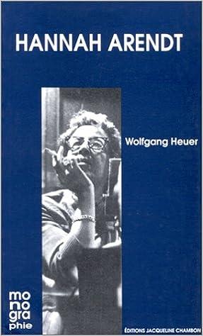 Lire Hannah Arendt epub, pdf