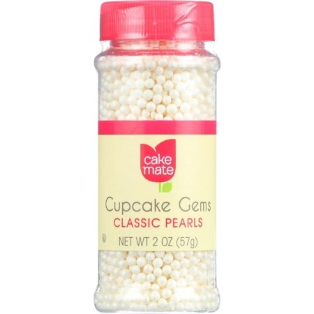 Cake Mate 2 Oz Cupcake Gems Perfect Pearls Cake Decor (Pack of 36) by Generic (Image #1)