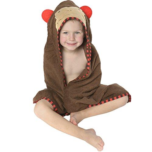 toddler bathrobe hooded - 2