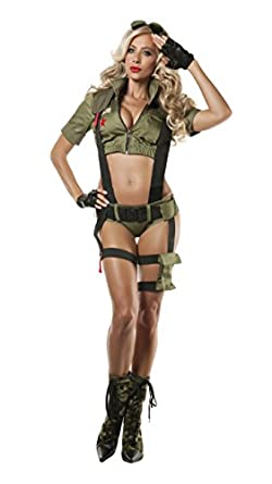 costume Sexy army girl
