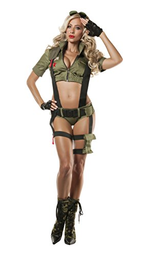 Womens Paratrooper Costume (Starline Women's Paratrooper Penny Costume)