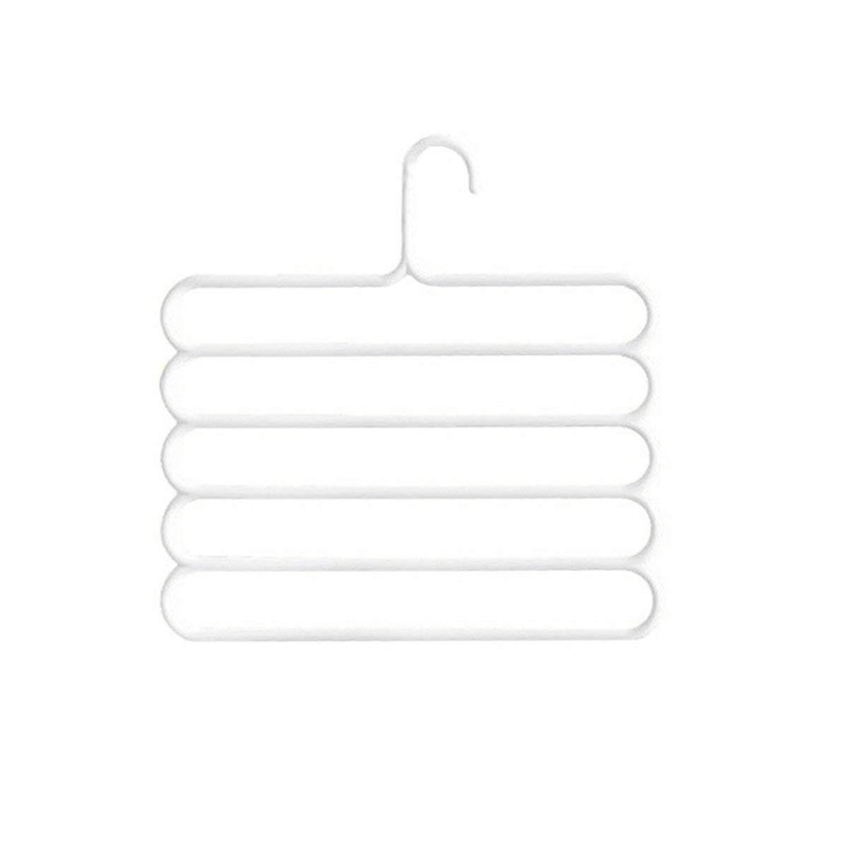 Almacenamiento Y Organizacion Gugutogo Pantalones Antideslizantes Magicos De Multiples Capas Percha Pantalones Multifuncion Armario Cinturon Soporte Para Bastidor Tipo S 5 Capas Ahorro De Espacio Hogar Y Cocina Lekabobgrill Com